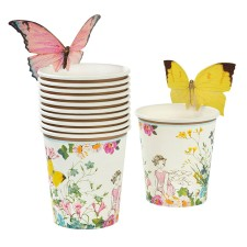 Pappbecher 'Truly Fairy' mit Schmetterling Detail von talking tables